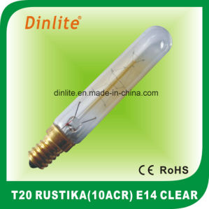 T20-10(ACR) 40W 25W Clear Rustika bulb pictures & photos