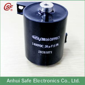 High Quality Capacitor Cbb15 1400DC 20 UF pictures & photos