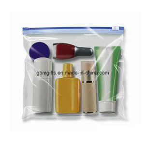 Soft PVC Bags for Cosmetic Packing, with Eco-Friendly Material, Silk Printing