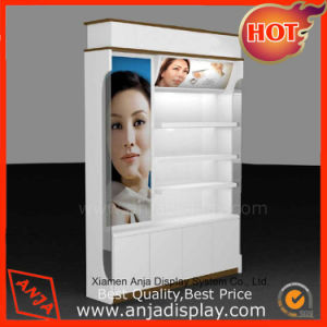 Wooden Powder Coating Cosmetic Display Cabinet pictures & photos