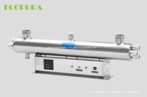 Pneumatic Self-Cleaning UV Water Sterilizer for Pure Water Disinfection (PDC) pictures & photos