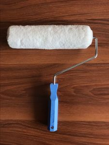 Microfiber Material Paint Roller Brush with Plastic Handle