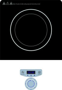 220V Ce CB Push Button Control Induction Cooktop with Knob pictures & photos