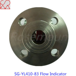 304 Stainless Steel Pipe Fitting Flang Sight Flow Indicators pictures & photos