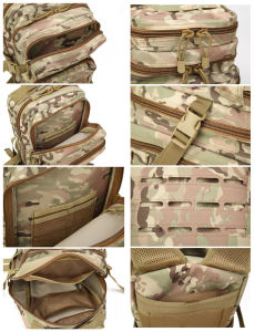 6 Colors Tactical Backpack Military Laser-Cut Bag pictures & photos