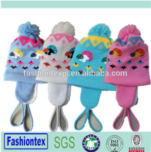 864edaf399b16 China Wholesale Cheap Custom Ear Muff Baby Beanie - China Baby ...