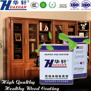 Huaxuan PU High Hardness Wear Resisting Matte Clear Top Coat Wooden Furniture Paint pictures & photos