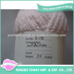 Yarn Supply Pink Rug Chunky Chenille Bulky Weight Yarn pictures & photos