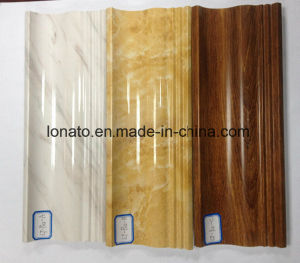 Marble and Wood Color PVC Moulding Cornice for Wall Decoration pictures & photos