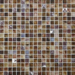 Hotel Bathroom Glass Mosaic Mix Stone Mosaic for Wall