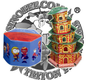 Friendship Pagoda Toy Fireworks Lowest Price pictures & photos