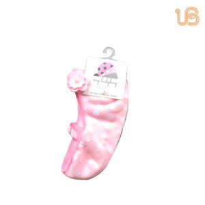 Lovely Children′s Shoe Socks with Anti Slip Sole pictures & photos