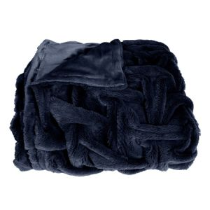 Promotion Various Faux Fur PV Fleece 2-Ply Blanket
