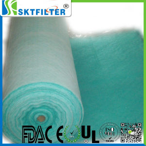 Green and White Paint Arrestor