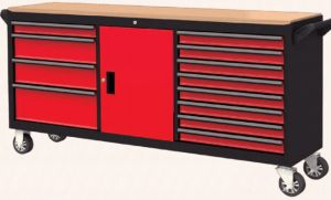 72 Inch 12 Drawer Roller Cabinet; Tool Cabinet