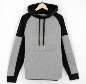 2017 New Design Hip Hop Men Fleece Embossing Print Hoodies Sweatshirts Top Clothing (H0258)