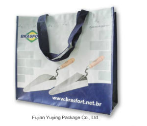 Customize Fashion Handle Non Woven Shopping Bags
