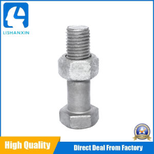 8.8grade Zinc Plated HDG DIN933/DIN934 Hex Bolts and Hex Nuts pictures & photos