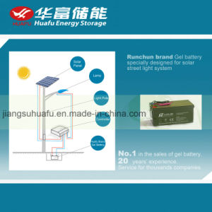 12V 200ah Solar Street Light Battery pictures & photos