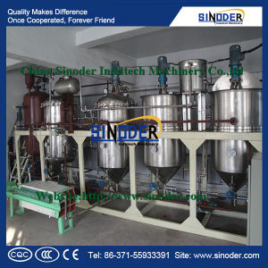 Canola Seeds Edible Oil Refining Machine pictures & photos