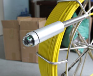 Waterproof Pan & Tilt Video Pipe Inspection Camera System Cr110-7ya with 120m Fiber Glass Cable pictures & photos