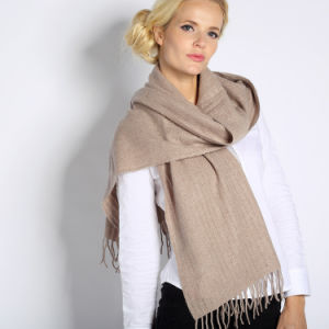 Fashion Cashmere Scarf with Metallic for Women pictures & photos