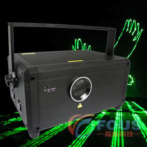 Stage Lighting / 3W Green Animation Laser Light / Green Laser Show System / PRO Sound and Light (FS-L1009A)