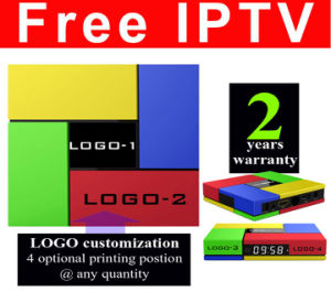 Custom Made Free IPTV Smart Streaming TV Box S912 Octa Core T95K-2GB/16GB pictures & photos