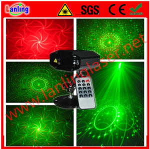 Remote Control Mini Twinkling Laser Decoration Lighting pictures & photos