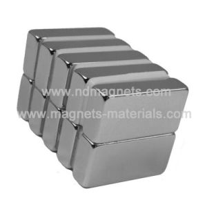 Neodymium Iron Born Magnets in Block Shape