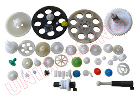 Plastic Gear and Worm/Nylon Plastic Injection Worm/Transmission Gear pictures & photos