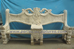 Stone Marble Garden Chair for Antique Garden Furniture (QTC004) pictures & photos