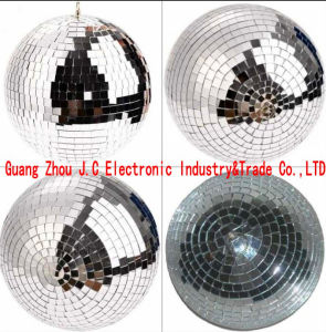 DJ Rotating Mirror Ball Light/ Glass Ball for Stage Disco Hotel