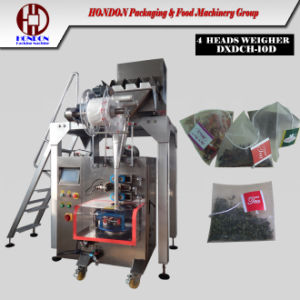 European Standard Nylon Pyramid Tea Bag Packing Machine pictures & photos