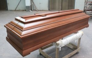 Euro Style Wood Coffin&Casket/New Style Wood Coffin pictures & photos