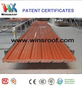 Winsroof Cubiertas En UPVC Roof  Tile pictures & photos