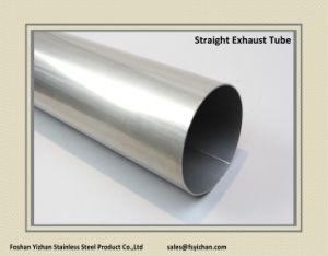 2 1/2 Inch 304 Stainless Steel Straight Exhaust Pipe & China 2 1/2 Inch 304 Stainless Steel Straight Exhaust Pipe - China ...