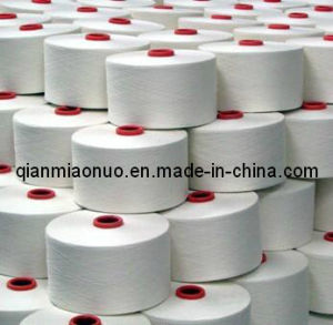 Raw White Polyester Yarn pictures & photos