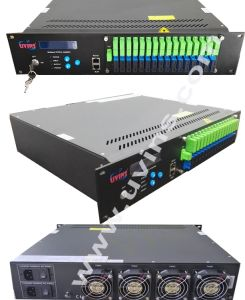 CATV 1550nm EDFA Optical Amplifier with Wdm with Optical Switch pictures & photos