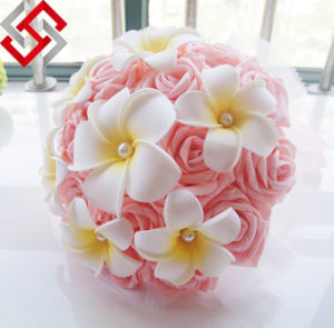 Artificial Real Touch Flower Made in China for Wedding Decoration