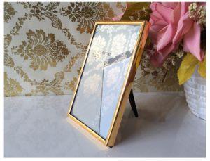 Gold Metal Frame Velvet Frame