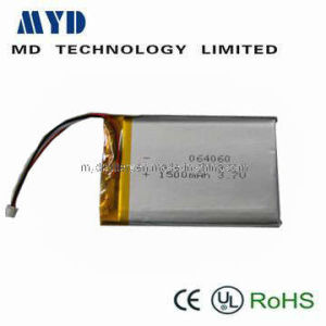 Li-Po Battery 064050,3.7V,1500mAh for Any Portable Electronic Devices