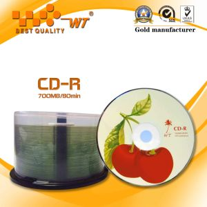 Blank CD-R 52X 700MB 80min Guarantee Fast Delivery (AS TECH)