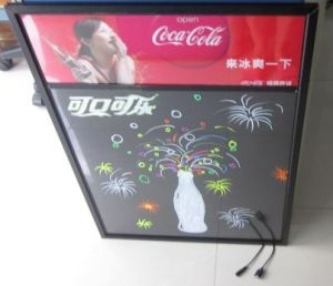 LED Writing Board With Seven Colour With Light Box pictures & photos