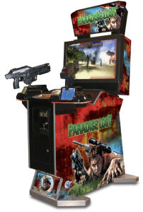 "Arcade Game Paradise Lost 42""LCD Shooting Game Machine pictures & photos"