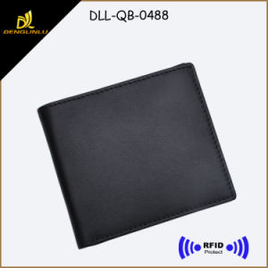Top Sale RFID Blocking Genuine Leather Man Wallet on Sale