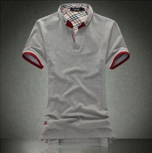 Latest Fashion Cotton Men Polo Shirt pictures & photos