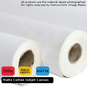 Matte Cotton Canvas 330GSM (Original Color)