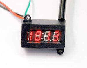 Electric Digital Clock for Motorcycle (SWT-0801)