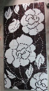 Flower Glass Mosaic Pattern Art Mosaic (HMP710) pictures & photos